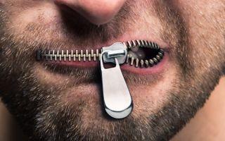 Сифилис во рту — фото