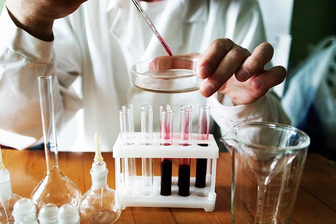 Процесс исследования биоматериала