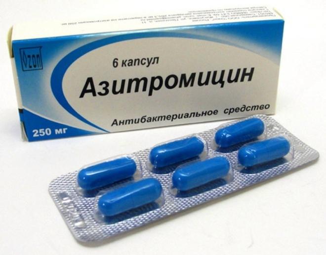 Лечение сифилиса антибиотиком Азитромицин